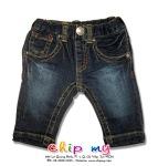 Quần lửng jean xanh đen
